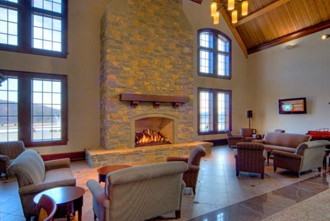 Reading Area/Fireplace