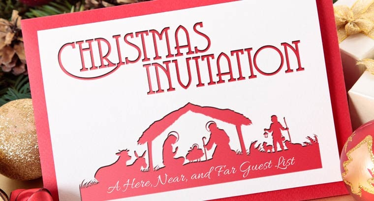 Christmas Invitation: A Here, Near, and Far Guest List