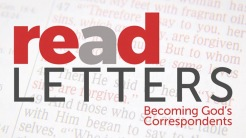 Re(a)d Letters: Becoming God's Correspondents