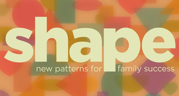 Shape: New Patterns for Family Success