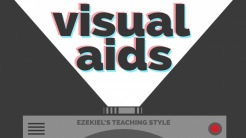 Visual Aids:  Ezekiel's Teaching Style